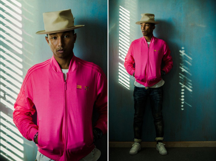 Pharrell Williams Portraits by Nicholas Maggio