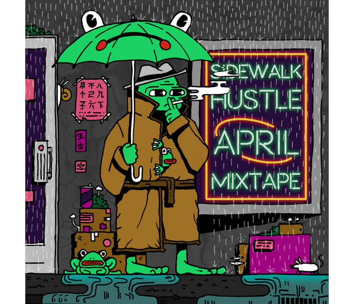 Sidewalk Hustle April 2015 Mixtape-1
