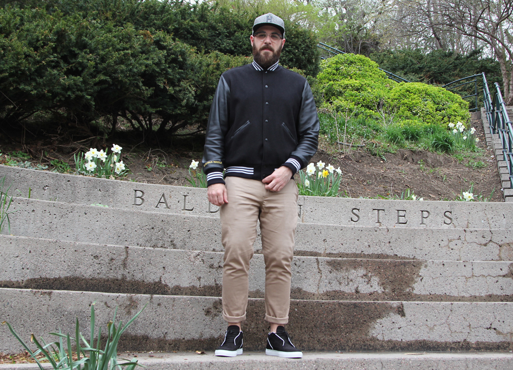 Baldwin Steps - Standing dick rub