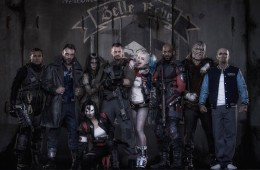 Suicide Squad Will Smith, Margot Robbie, Cara Delevigne