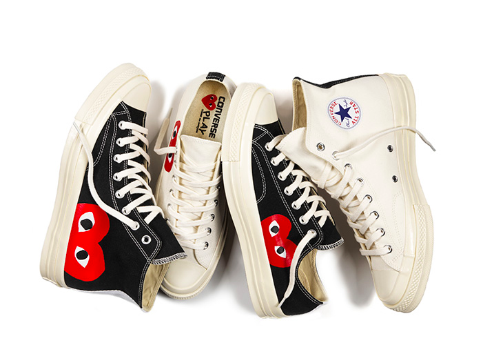 b0dda50b9f8e Converse x PLAY COMME des GARCONS Chuck Taylor All Star 70 Collection