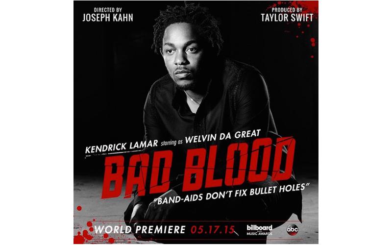 Taylor Swift Bad Blood Music Video Kendrick Lamar