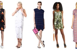 10 Stupid Easy Printed Dresses for Summer 2015