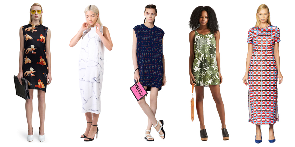 10 STUPID-EASY PRINTED DRESSES FOR SUMMER=