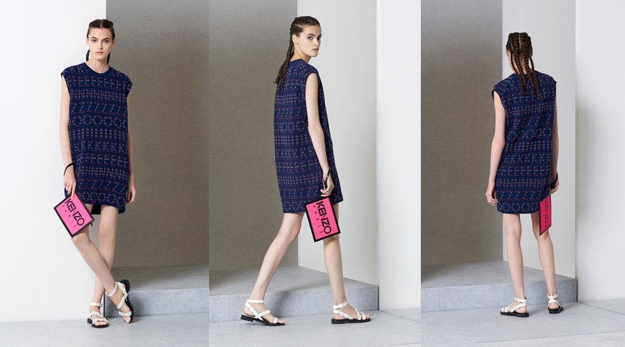 Kenzo Dress Spring 2015