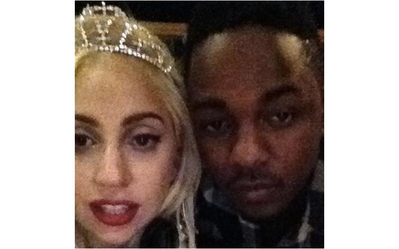 Kendrick Lamar Lady Gaga PARTYNAUSEOUS