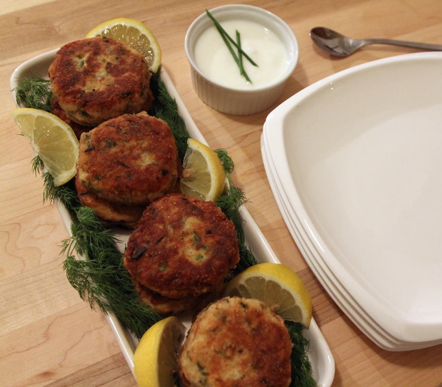 Fish Cakes Done