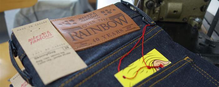 Naked Famous Denim Over the Rainbow Kimono-2