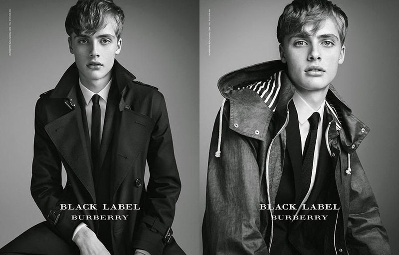 Burberry Black Label Spring Summer 2015 Campaign-1