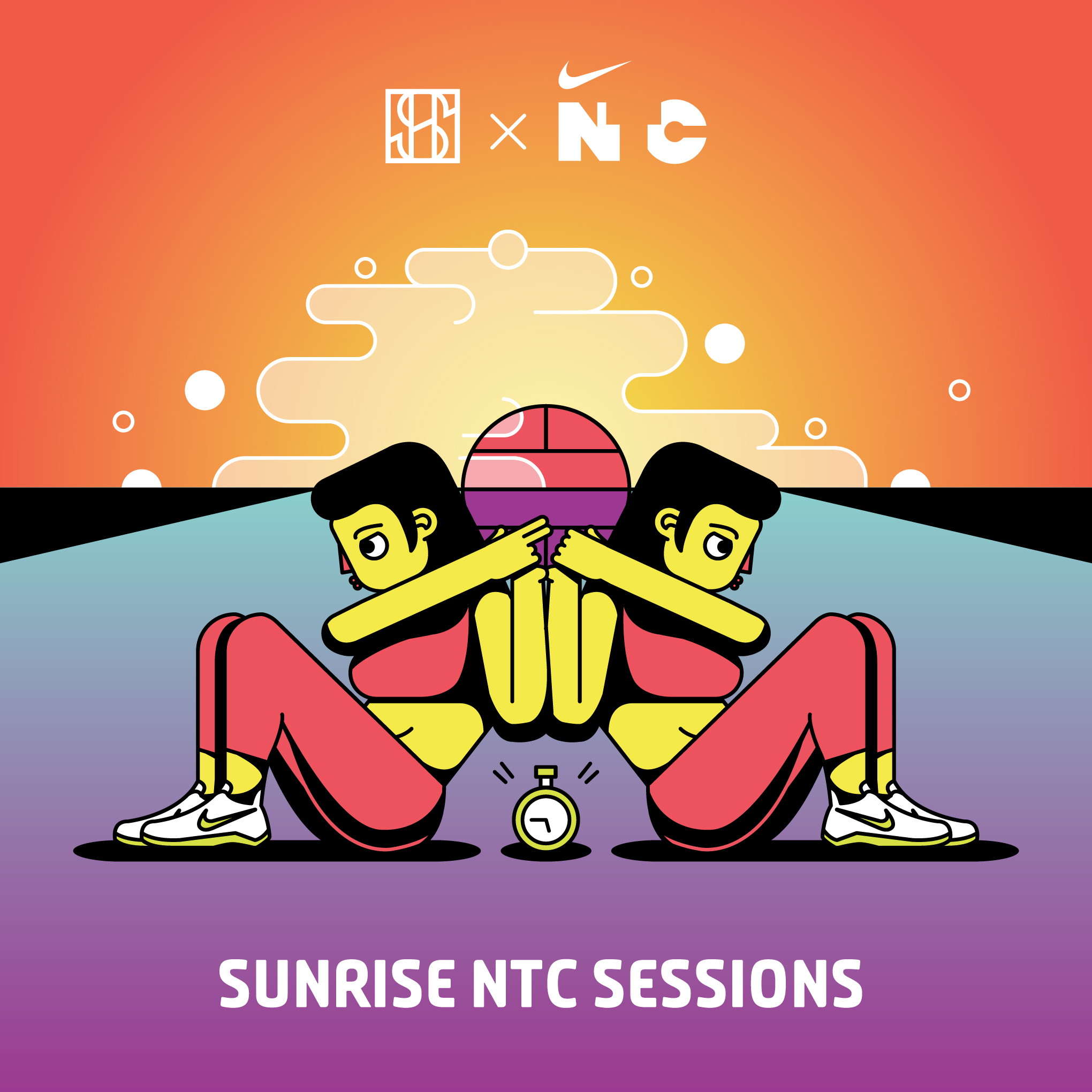 Sidewalk Hustle x Nike NTC Sunrise Sessions Square