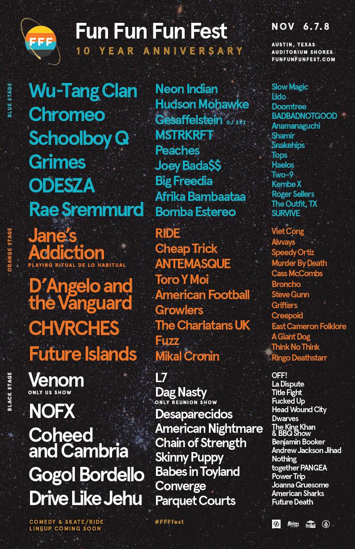 Fun Fun Fun Festival 2015