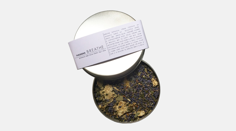 The Seeke Breathe Botanical Facial Steam