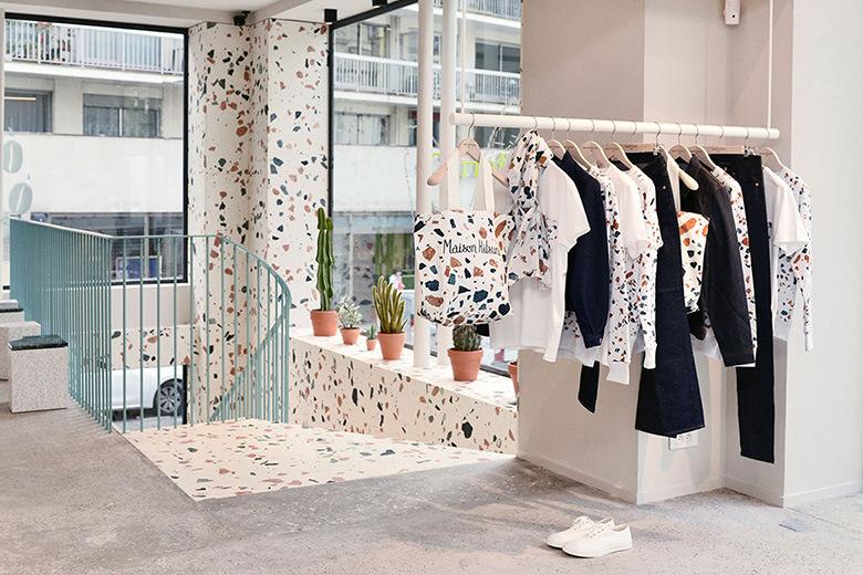 Maison kitsun opens new paris boutique caf at filles - Maison du japon paris boutique ...