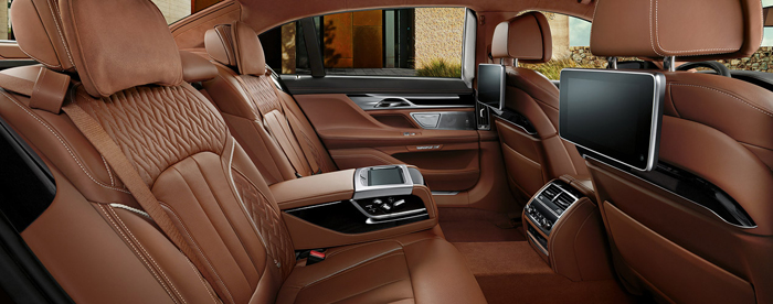 BMW Introuces the 2016 7-Series Detailed Interior
