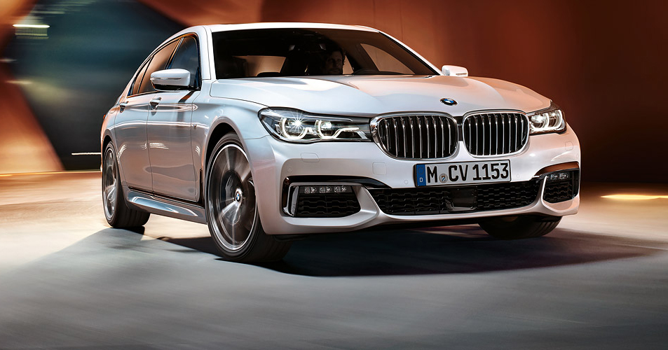 BMW Introuces the 2016 7-Series white