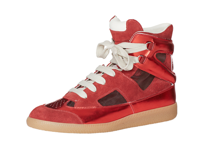 Maison Margiela SS15 Cut Out High-Top-side-1