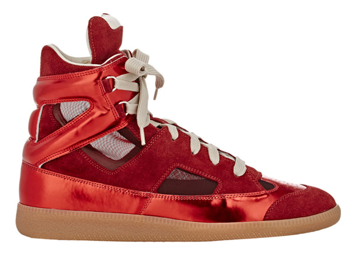 Maison Margiela SS15 Cut Out High-Top-side