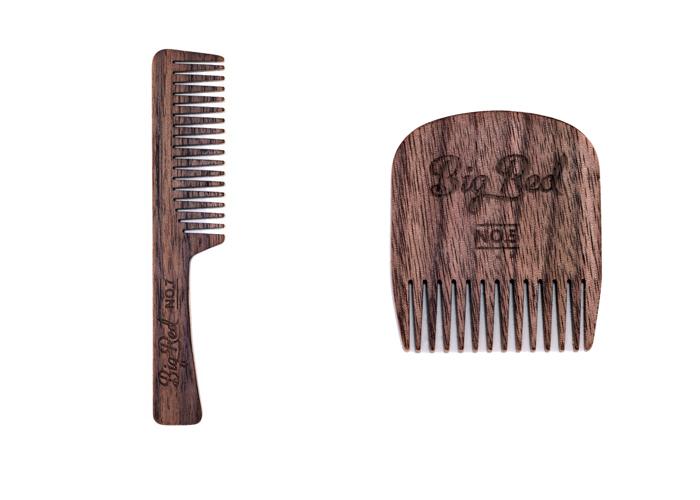 Big Red Beard Comb