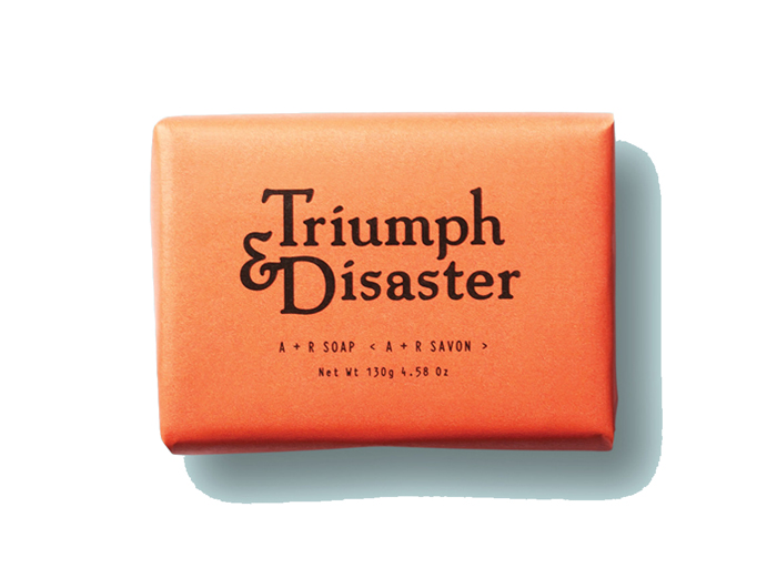 Triumph and Disaster A + R Bar Soap