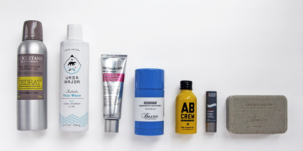 MEN'S GROOMING ESSENTIALS JULY 2015=