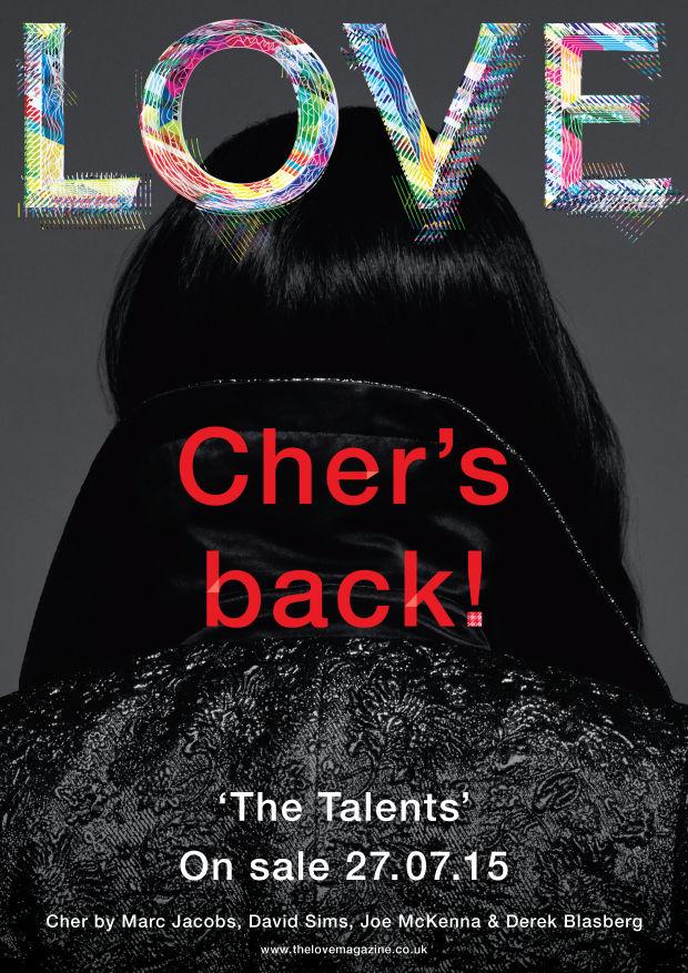 Cher for LOVE Magazine