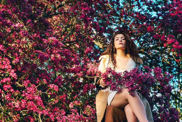 Lorde by Ryan McGinley for Dazed Summer 2015-2