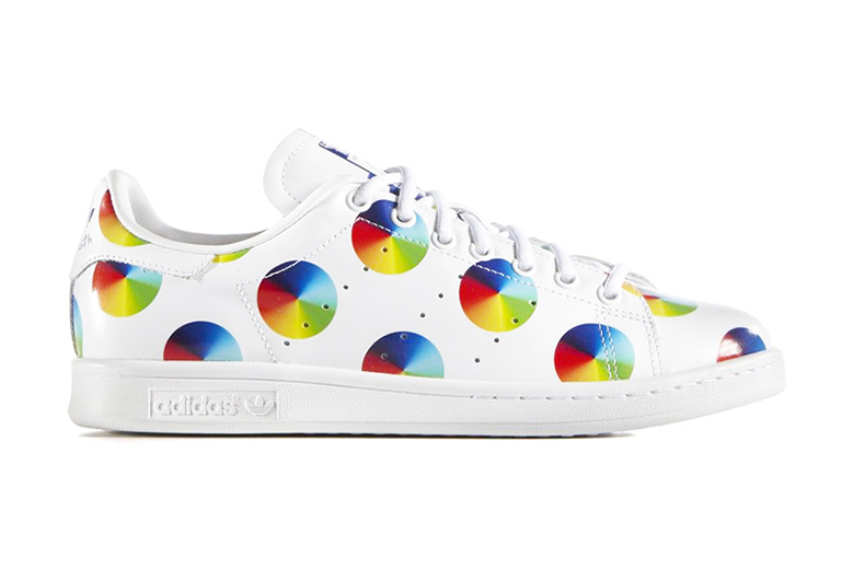 timeless design 1d721 426a4 adidas Stan Smith Color Wheel