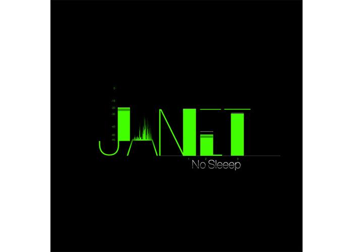 Janet Jackson No Sleeep Album Art