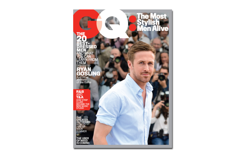 Ryan Gosling GQ Most Stylish Men Alive