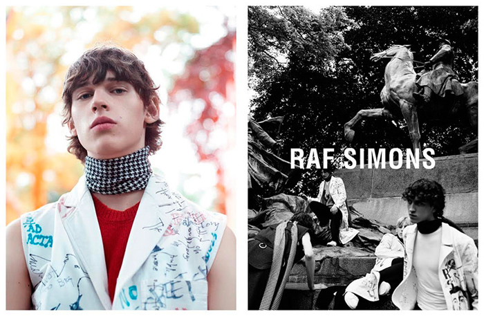 Raf Simons Fall Winter 2015 Campaign-1