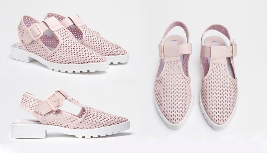 Miista Kalia Pink Flats