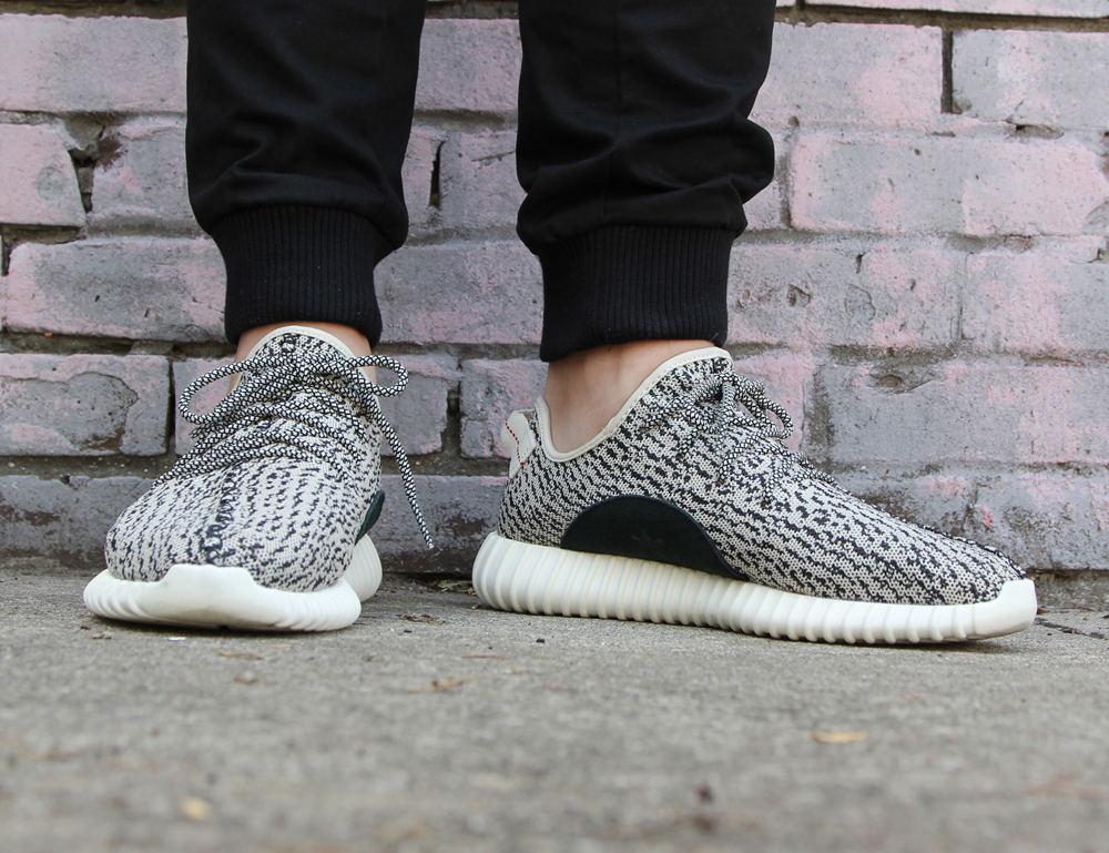 Here Are Some Some On Feet Images of The adidas Yeezy Boost 350