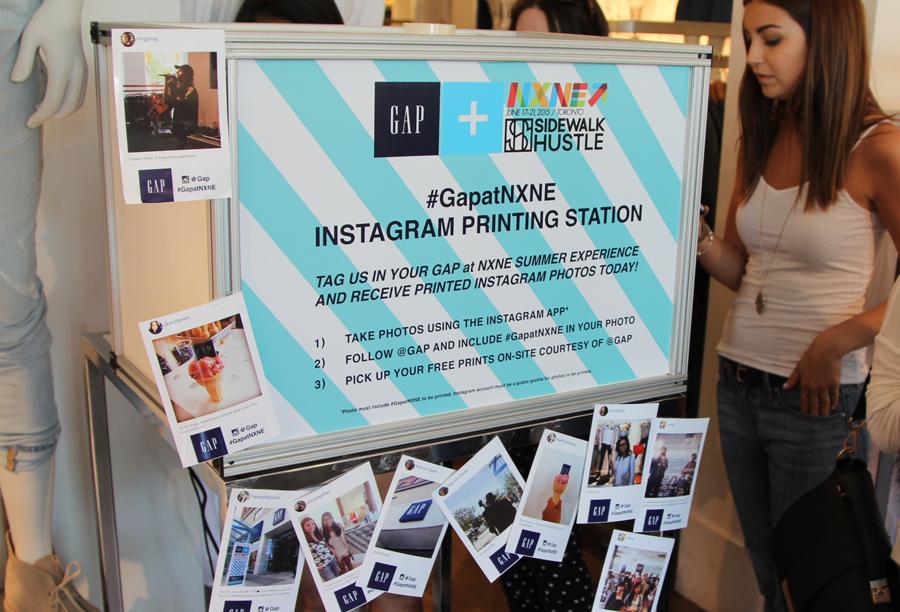 Gap At NXNE Sidewalk Hustle 2015-4