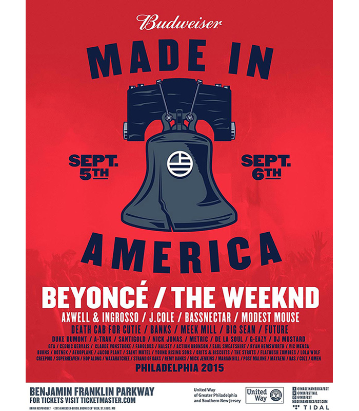Made In America Festival Beyonce The Weeknd