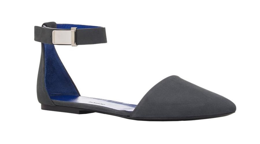 Proenza Schouler Ankle-Strap d'Orsay Flats