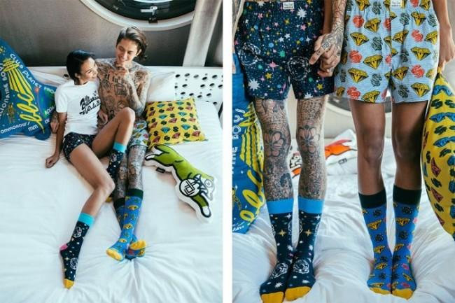Billionaire Boys Club x Happy Socks Summer 2015 Lookbook-2