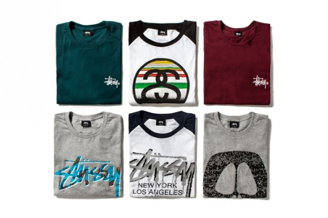 Stussy T-Shirts For Spring Summer 2015-2