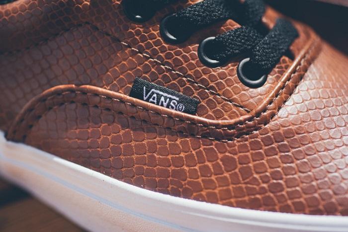 Snake Era Black Brown Vans-2