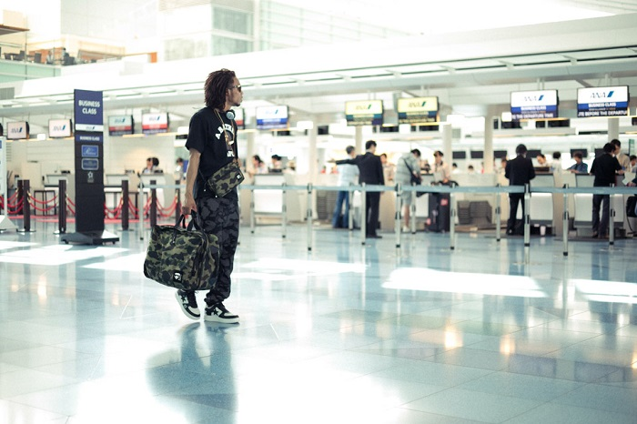 BAPE 1st Camo Print Luggage Collection-1