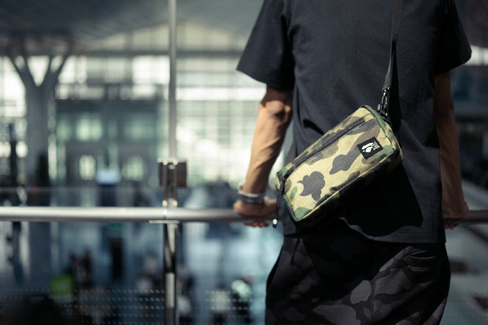BAPE 1st Camo Print Luggage Collection-10