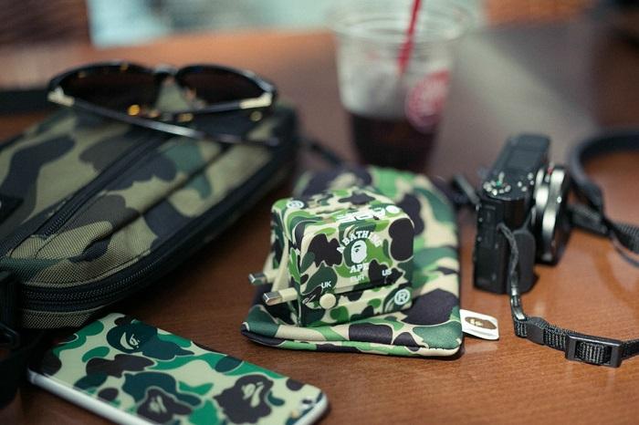 BAPE 1st Camo Print Luggage Collection-11