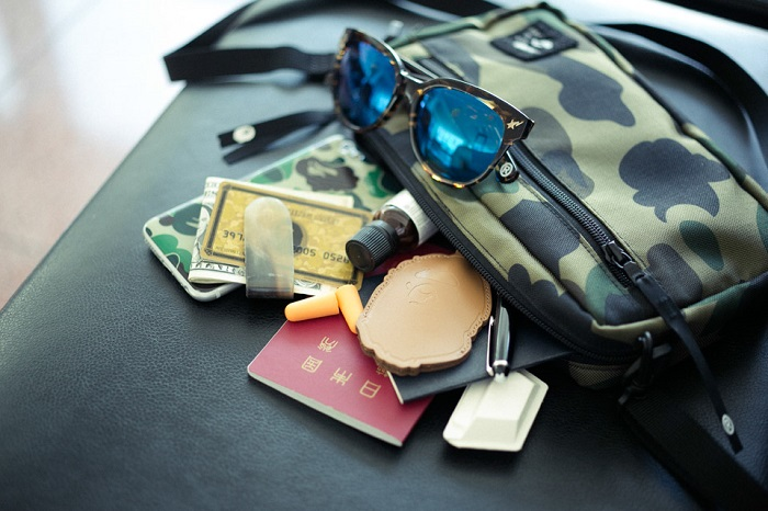 BAPE 1st Camo Print Luggage Collection-12