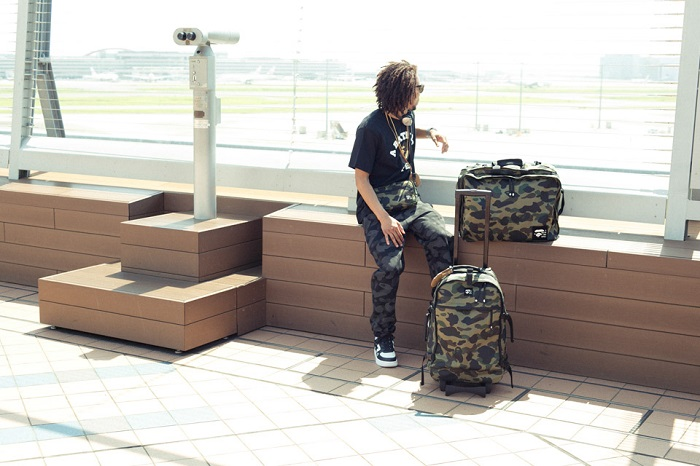 BAPE 1st Camo Print Luggage Collection-2