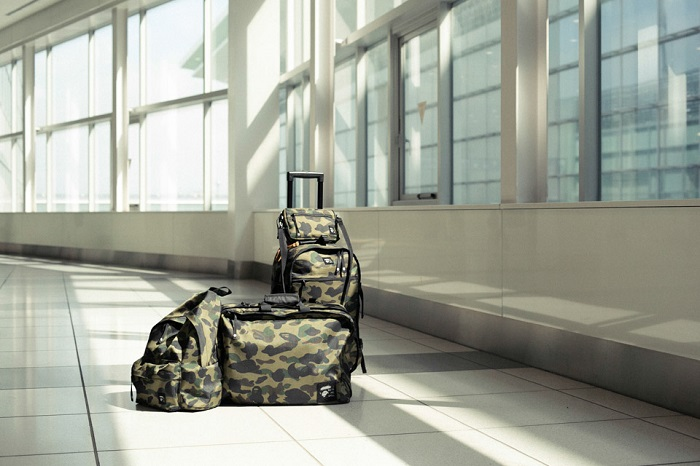 BAPE 1st Camo Print Luggage Collection-3