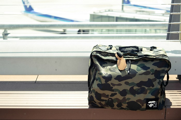 BAPE 1st Camo Print Luggage Collection-5