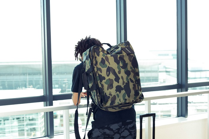 BAPE 1st Camo Print Luggage Collection-6