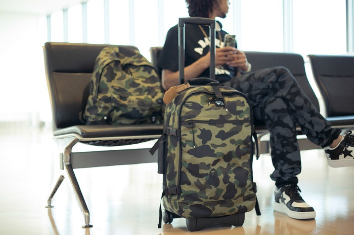 BAPE 1st Camo Print Luggage Collection-7