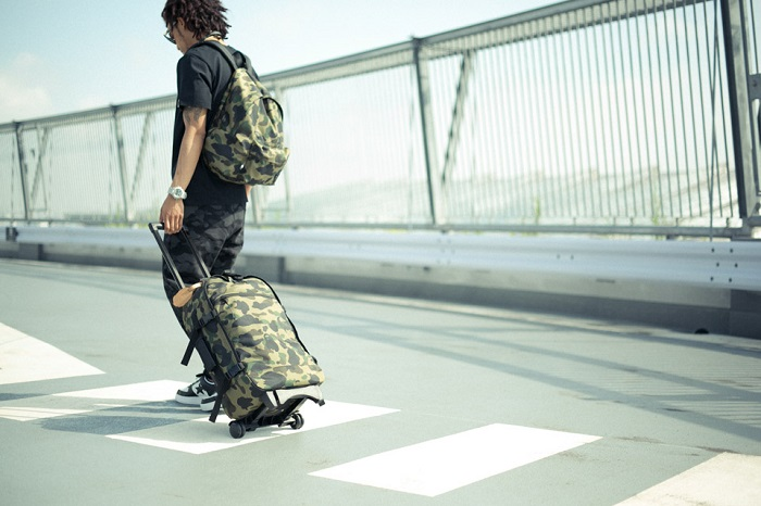 BAPE 1st Camo Print Luggage Collection-8
