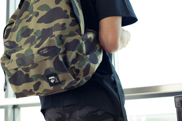 BAPE 1st Camo Print Luggage Collection-9