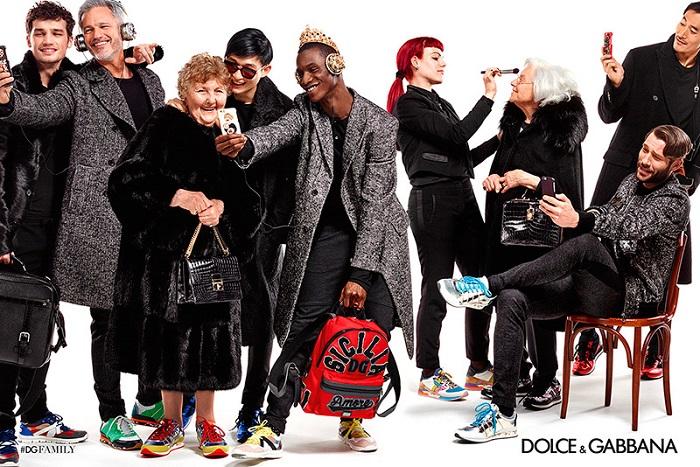 Dolce & Gabbana Fall Winter Campaign 2015-1